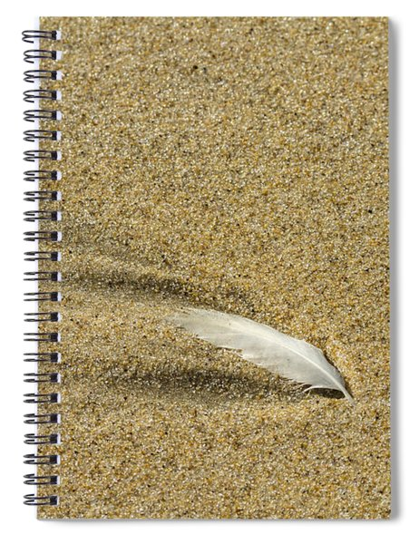 Wake Of A Feather Spiral Notebook