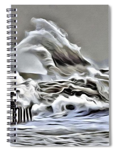 Wake Of Nature Spiral Notebook