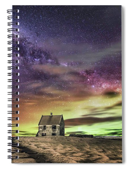 Wake Up And Start To Dream Spiral Notebook