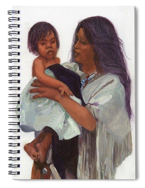 Wakin Up Sacajawea And Pomp Spiral Notebook