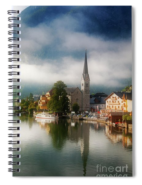 Waking Up In Hallstatt Spiral Notebook