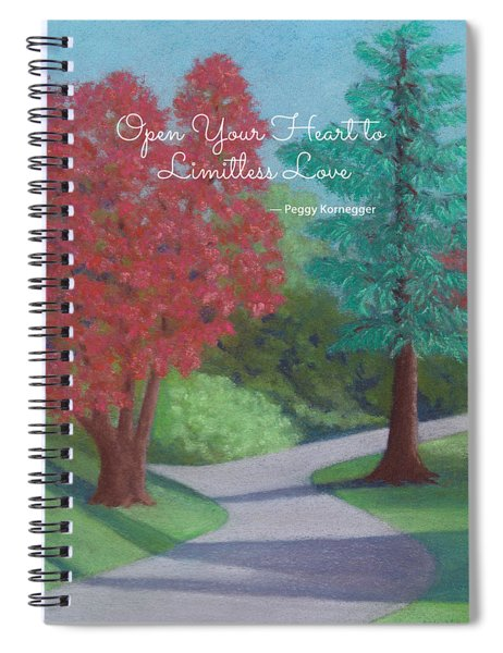 Waking Up - With Quote Spiral Notebook