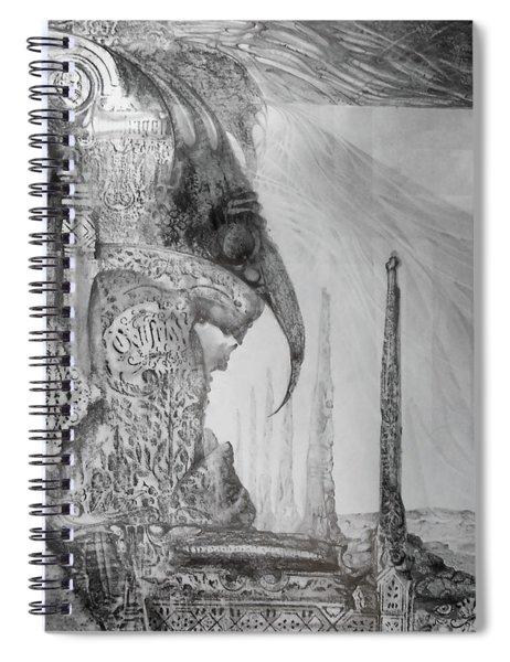 Waldrapp's Tomb Spiral Notebook