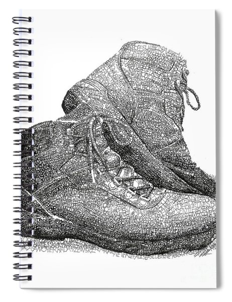 Walk A Mile In My Shoes-john Casanover Ms Project Spiral Notebook
