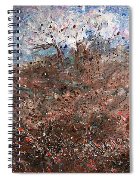 Walk Across The Windy Moor Spiral Notebook