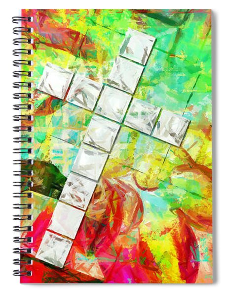 Walk Humbly With Thy God Spiral Notebook