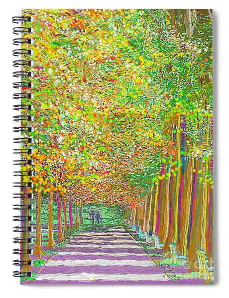 Walk In Park Cathedral Spiral Notebook