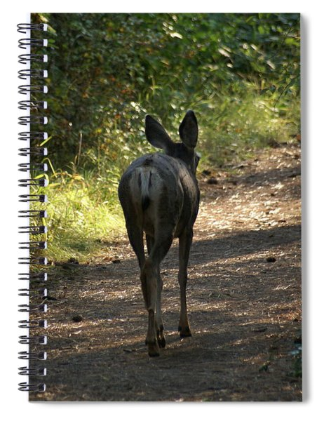 Walk On Spiral Notebook