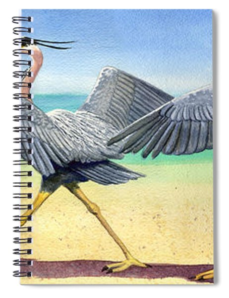 Walk This Way Spiral Notebook