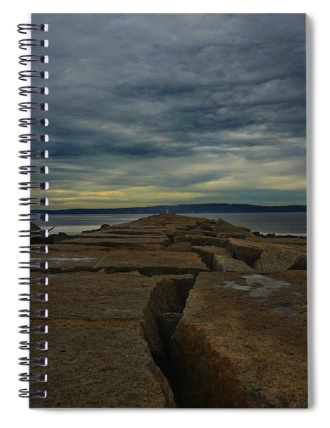 Walk To The Sea Spiral Notebook