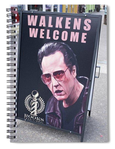 Walkens Welcome Spiral Notebook