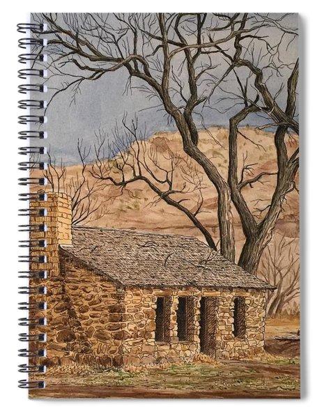 Walker Homestead In Escalante Canyon Spiral Notebook