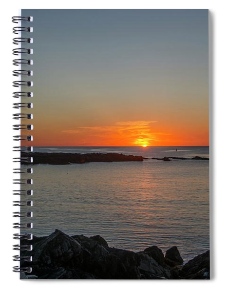 Walkers Point Kennebunkport Maine Spiral Notebook
