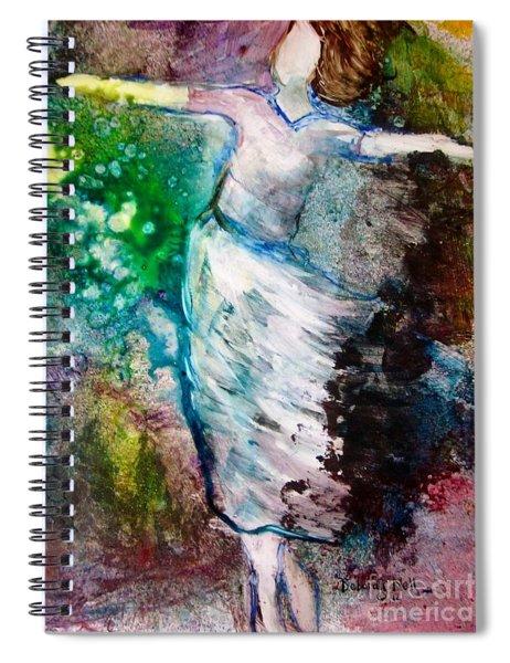 Walking In The Spirit Spiral Notebook