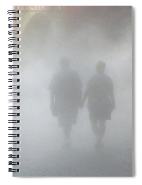 Walking Into The Unknown Spiral Notebook