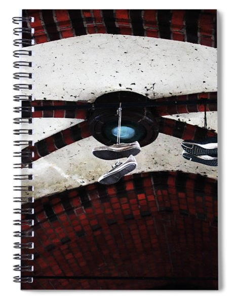 Walking On Air Spiral Notebook