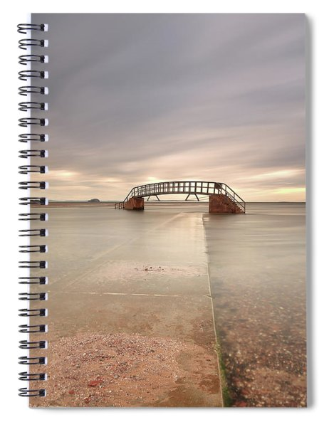 Walkway To The Stairs Spiral Notebook