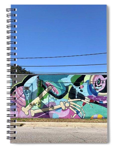 Wall Art Spiral Notebook