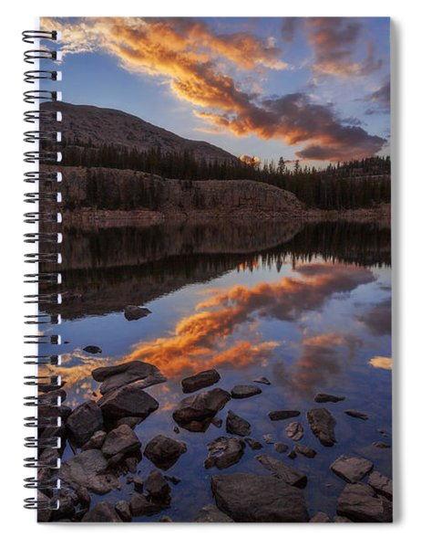 Wall Reflection Spiral Notebook