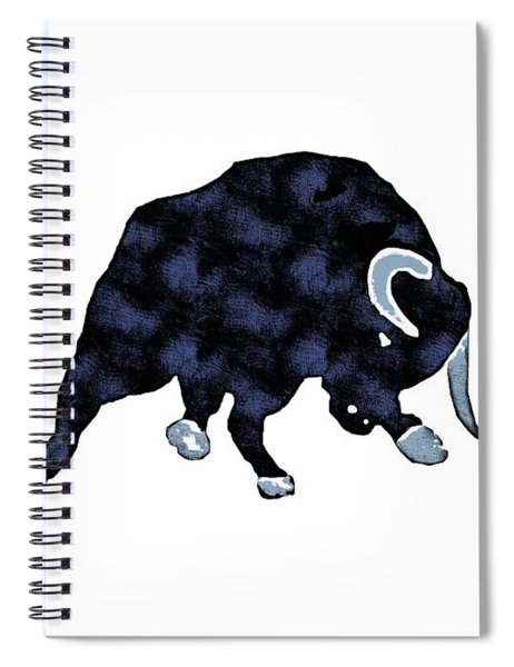 Wall Street Bull Market Series 1 T-shirt Spiral Notebook