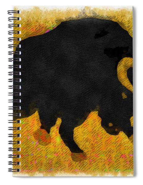 Wall Street Bull Market Series 2 Spiral Notebook