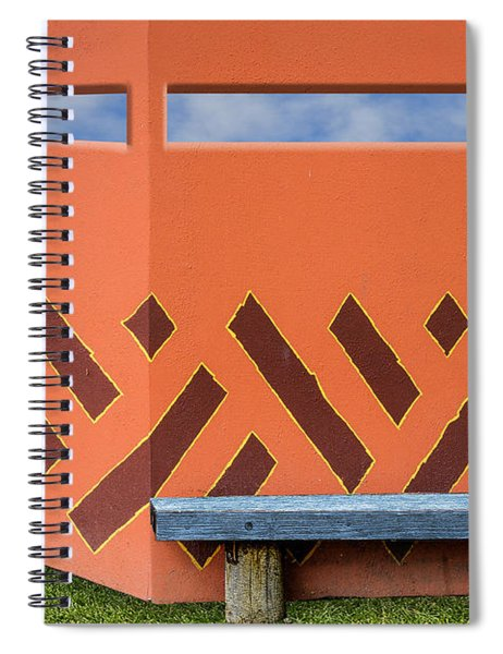 Wall With A View Spiral Notebook