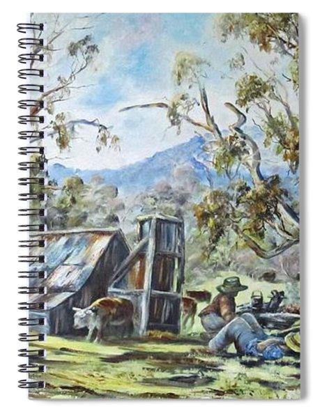 Wallace Hut, Australia's Alpine National Park. Spiral Notebook