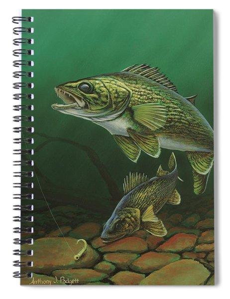 Walleye Spiral Notebook