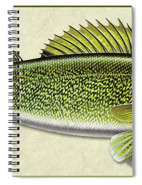 Walleye Id Spiral Notebook