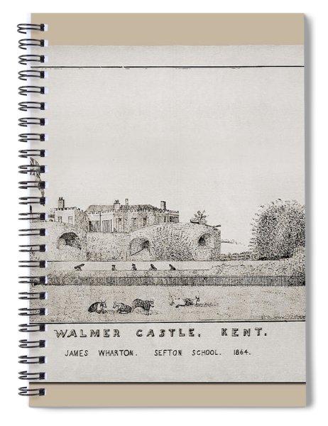 Walmer Castle Kent Spiral Notebook