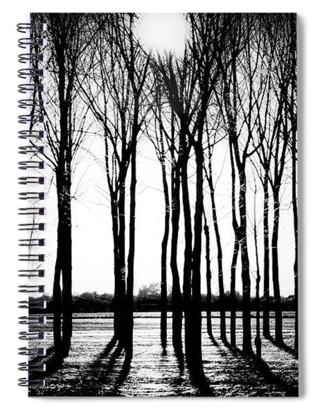 Walnut Grove Fall Evening Spiral Notebook