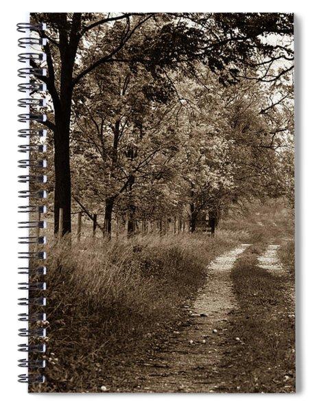 Walnut Lane Antiqued Spiral Notebook