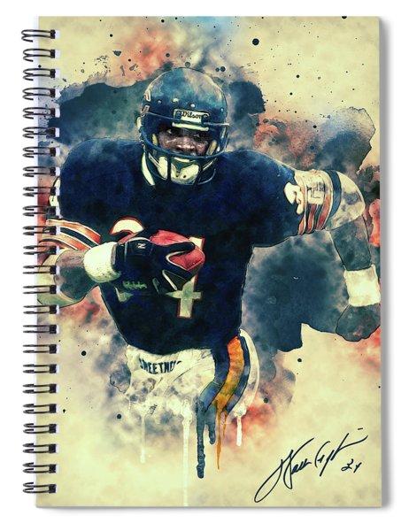Walter Payton Spiral Notebook