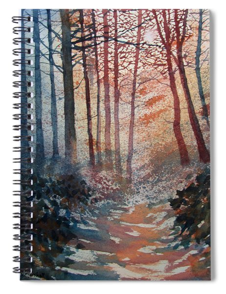 Wander In The Woods Spiral Notebook