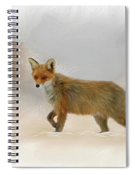 Wandering Fox Spiral Notebook