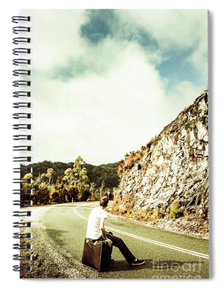 Wanderlust Southwest Tasmania Spiral Notebook