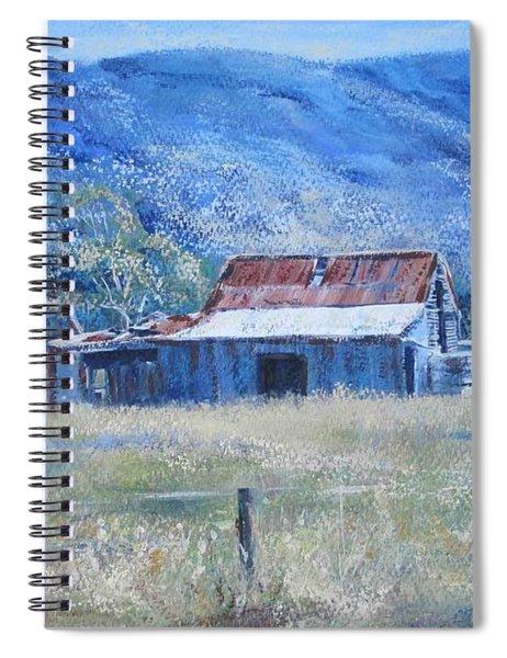 Warby Hut Spiral Notebook