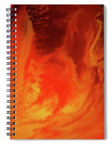 Warm  Spiral Notebook