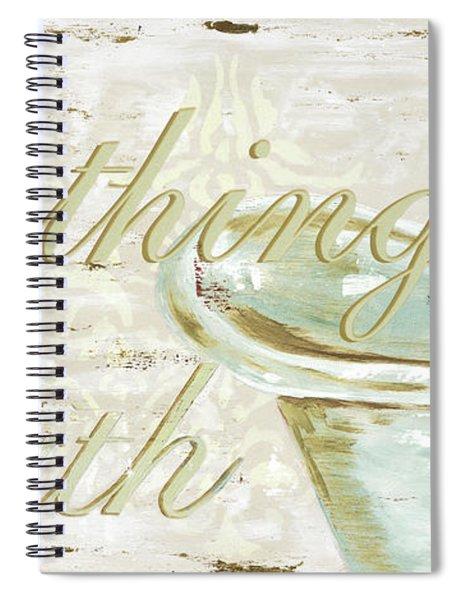 Warm Bath 1 Spiral Notebook
