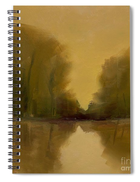 Warm Morning Spiral Notebook
