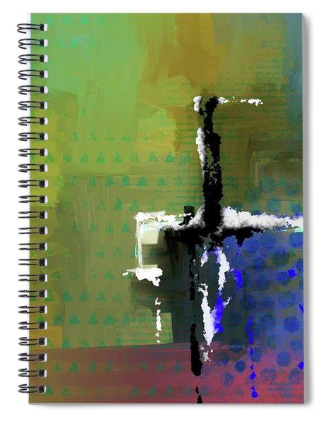 Warm Spring Night Spiral Notebook