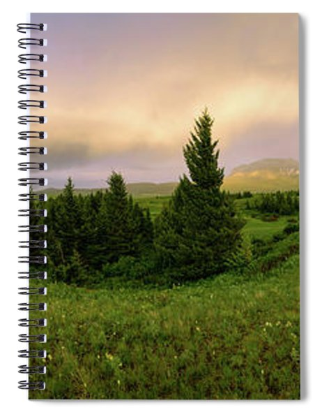 Warm The Soul Panorama Spiral Notebook