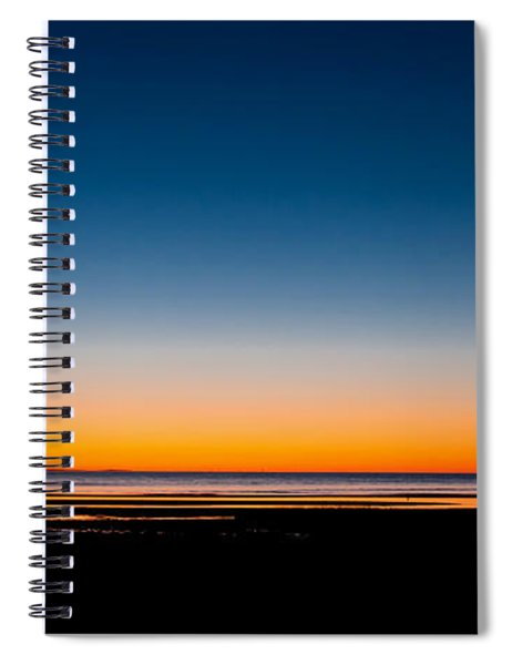 Warm To Cool Spiral Notebook
