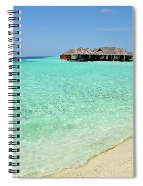 Warm Welcoming. Maldives Spiral Notebook