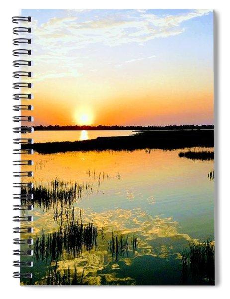 Warm Wet Wild Spiral Notebook