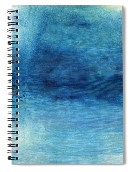 Wash Away- Abstract Art By Linda Woods Spiral Notebook