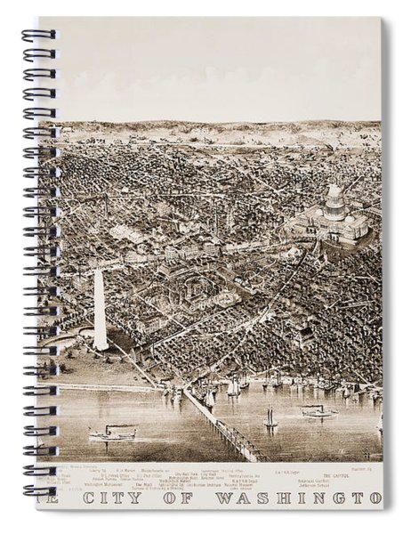 Washington D.c., 1892 Spiral Notebook
