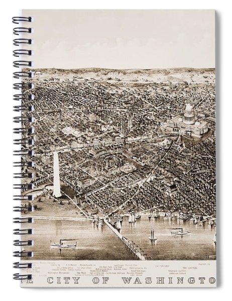 Washington D.c., 1892 Spiral Notebook