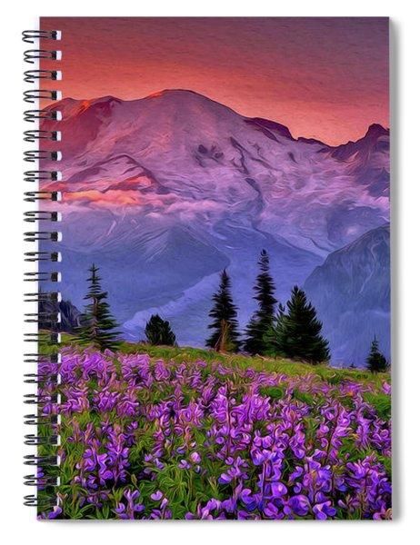 Washington, Mt Rainier National Park - 05 Spiral Notebook