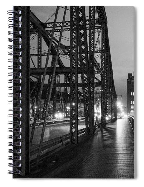 Washington Street Bridge Spiral Notebook